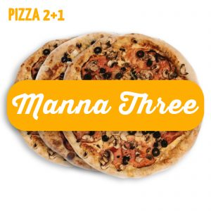 Manna Three (Pizza 2+1)